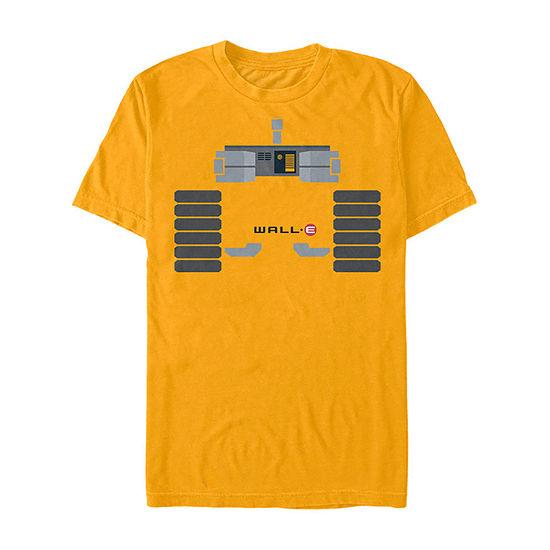 Disney Pixar Wall-E Halloween Costume Mens Crew Neck Short Sleeve Graphic T-Shirt