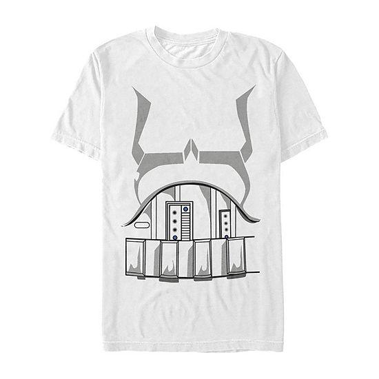 Star Wars Stormtrooper Costume Mens Crew Neck Short Sleeve Star Wars Graphic T-Shirt