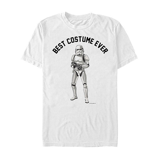 Star Wars Stormtrooper Best Costume Ever Mens Crew Neck Short Sleeve Star Wars Graphic T-Shirt