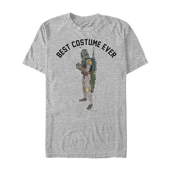 Star Wars Boba Fett Best Costume Ever Mens Crew Neck Short Sleeve Star Wars Graphic T-Shirt