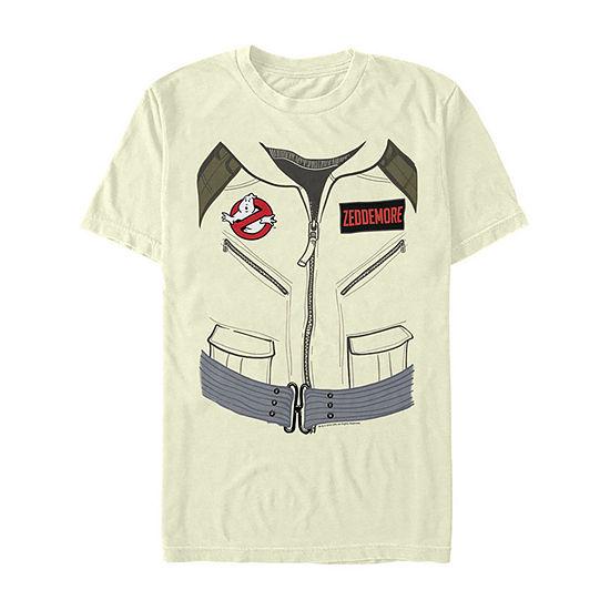 Ghostbusters Zeddemore Costume Mens Crew Neck Short Sleeve Graphic T-Shirt