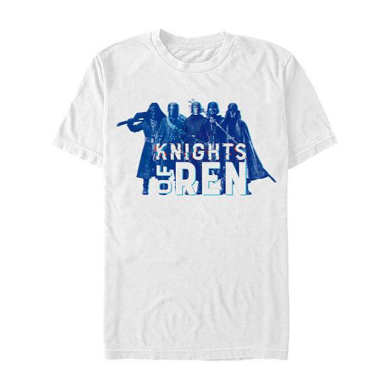 Rise Of Skywalker Knights Of Ren Mens Crew Neck Short Sleeve Star Wars Graphic T-Shirt