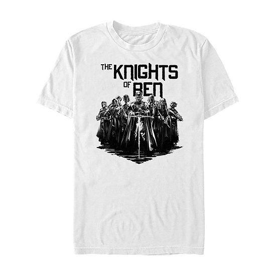 Rise Of Skywalker Knights Of Ren Mens Crew Neck Short Sleeve Star Wars Graphic T-Shirt