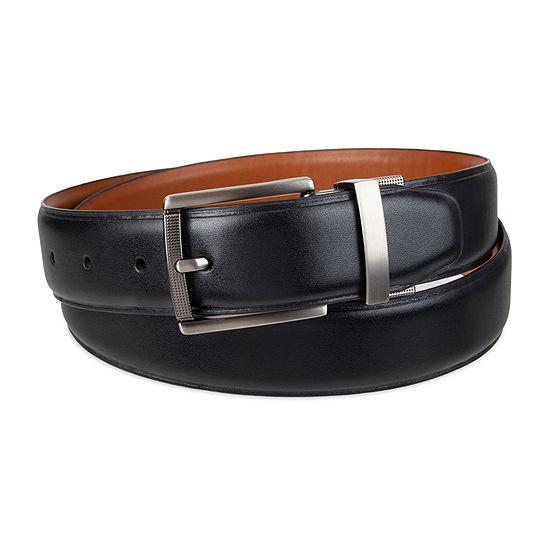 JF J.Ferrar® Reversible Stretch Heatcrease Men's Belt