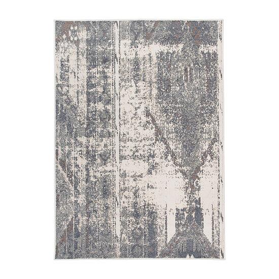 World Rug Gallery Distressed Contemporary Bohemian Rectangular Indoor Rugs