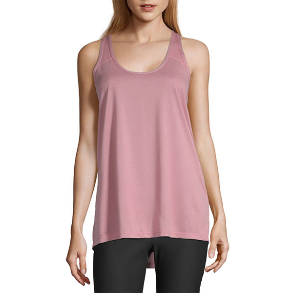 Xersion Womens Scoop Neck Sleeveless Tank Top