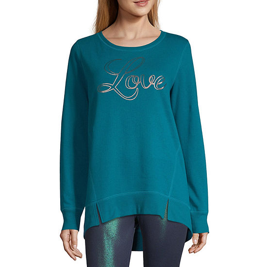 Xersion Studio Lightweight Graphic Sweatshirt