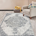 World Rug Gallery Transitional Distressed Rectangular Indoor Rugs
