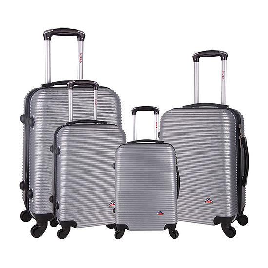 InUSA Royal Hardside 4-Pc Luggage Set