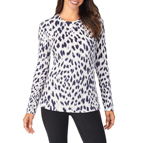 Cuddl Duds Fleecewear Thermal Shirt-Tall