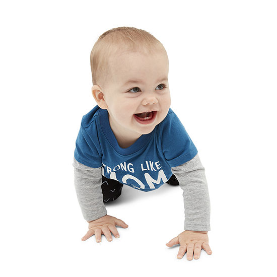 Okie Dokie Baby Boys Long Sleeve T-Shirt