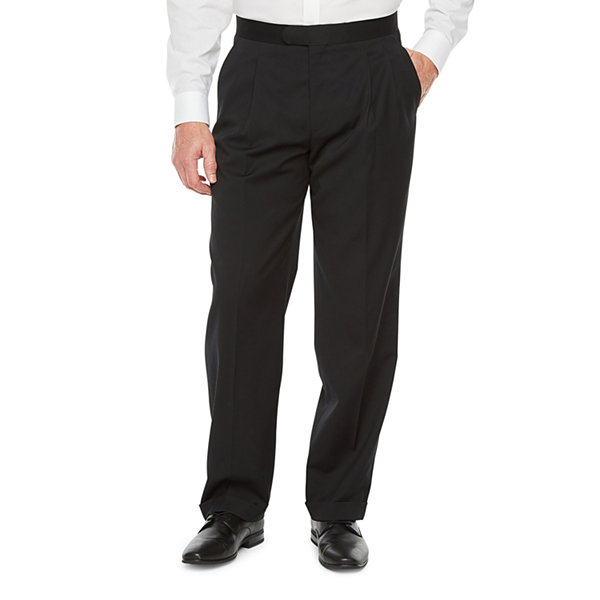 Stafford Travel Tuxedo Pants Big and Tall