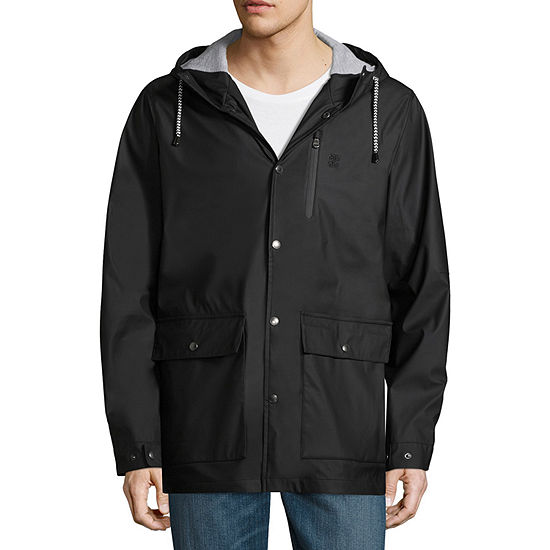 IZOD Hooded Midweight Raincoat Big and Tall