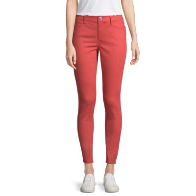 St. John's Bay Secretly Slender Womens Mid Rise Skinny Fit Jean