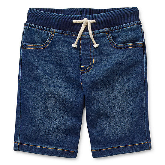 Okie Dokie Toddler Boys Denim Short