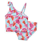 Okie Dokie Toddler Girls Tankini Set