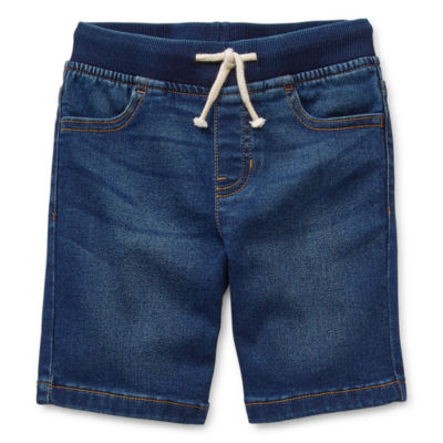 Okie Dokie Boys Denim Short - Little Kid