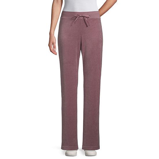 St. John's Bay Active Womens Slim Pull-On Pants