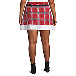 City Streets Womens Flared Skirt-Juniors Plus