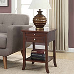 AH Logan 1-Drawer End Table