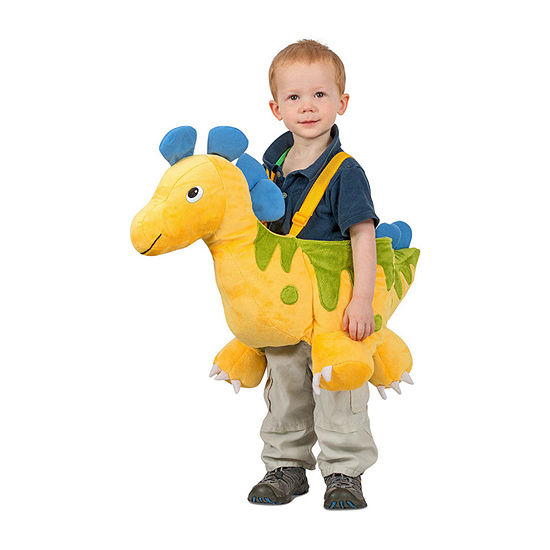 Toddler Yellow Ride-In Dino Costume