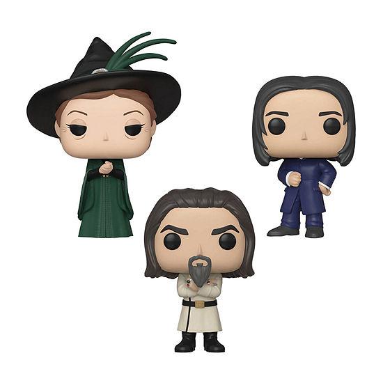 Funko Pop! Movies Harry Potter Yule Series 8 Collectors Set 1 - Minerva Mcgonagall Severus Snape Igor Karkaroff