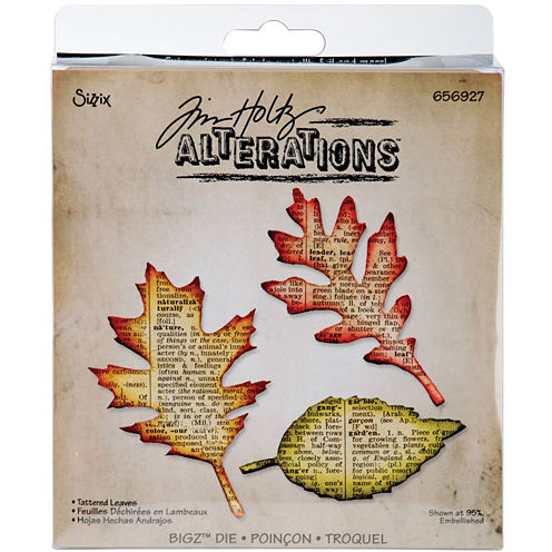 Sizzix® Bigz™ Die, Tattered Leaves