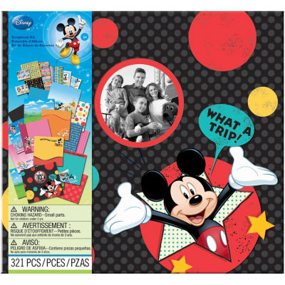 Disney Vacation Scrapbook Kit