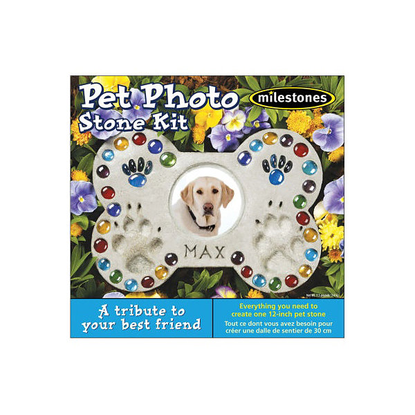Milestones Pet Photo Stone Kit