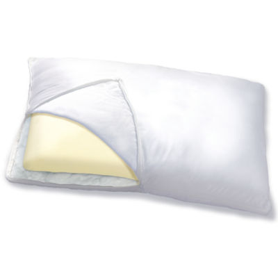 Sleep Innovations® 2 in 1 Reversible Memory Foam Pillow