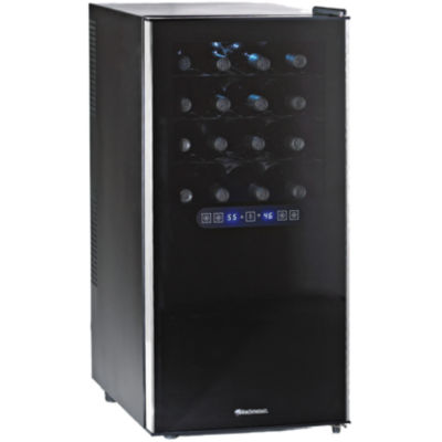 Wine Enthusiast® 32-Bottle Silent Dual Zone Touchscreen Wine Refrigerator