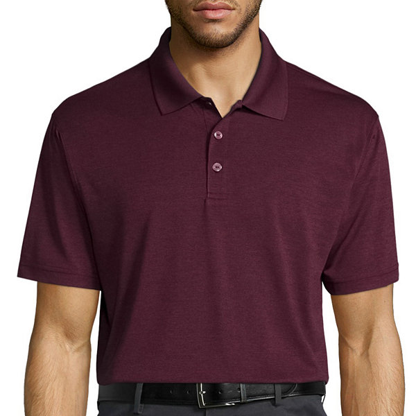 Haggar short sleeve poly polo jcpenney for Jcpenney ladies polo shirts