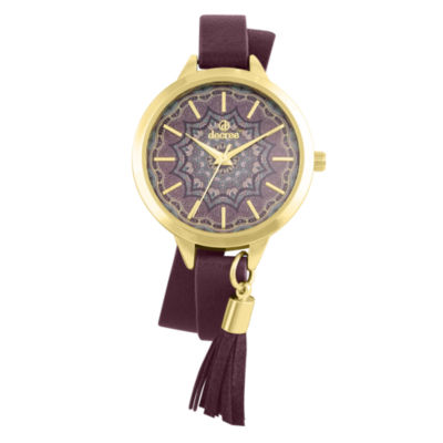 Decree Womens Strap Watch-Pt2659gdpp