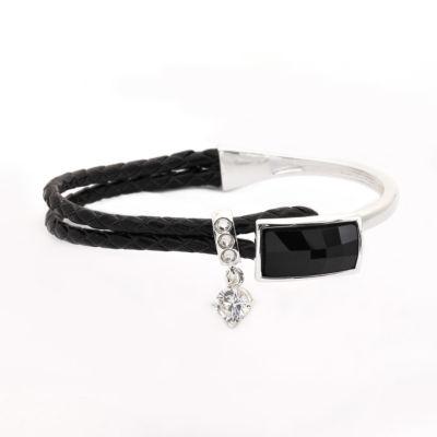 Sparkle Allure White Bangle Bracelet