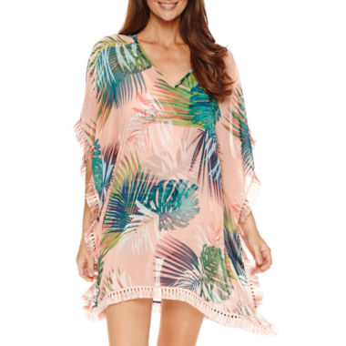 jcpenney.com | Liz Claiborne Tropical Solution Coverup or Swimsuit