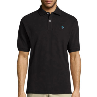 Biscayne Bay Embroidered Short Sleeve Knit Polo Shirt