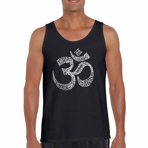 Los Angeles Popular Yoga Poses Tank Top