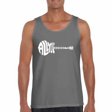Los Angeles Pop Art Men's All You Need is Love Tank Top