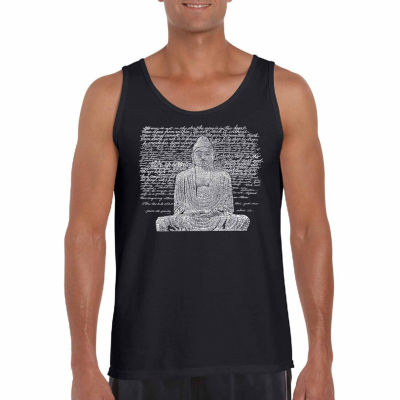 Los Angeles Pop Art Men's Zen Buddha Tank Top