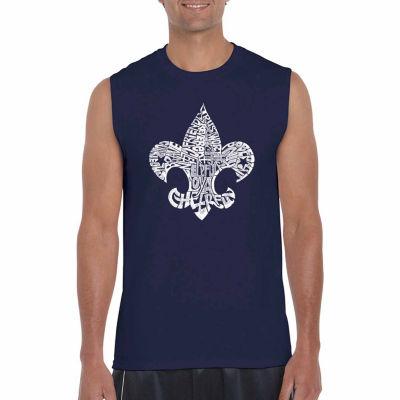 Los Angeles Pop Art Sleeveless 12 Points of ScoutLaw Word Art T-Shirt