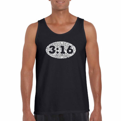 Los Angeles Pop Art Men's John 3:16 Tank Top