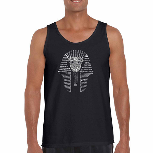 Los Angeles Pop Art Men's King TUT Tank Top