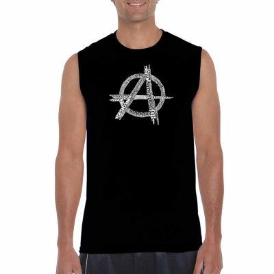 Los Angeles Pop Art Sleeveless Great All Time PunkSongs Word Art T-Shirt