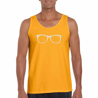 Los Angeles Pop Art Men's Sheik to Be Geek Tank Top