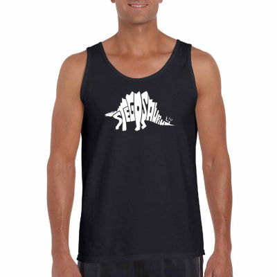 Los Angeles Pop Art Men's Stegosaurus Tank Top
