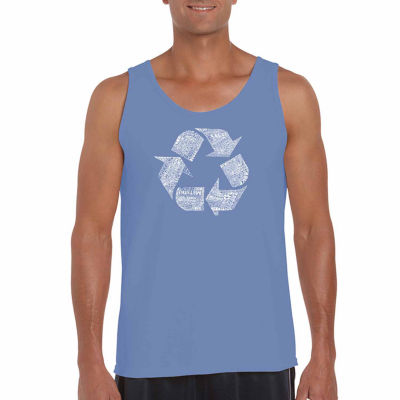 Los Angeles Pop Art Men's 86 Recyclable Products Tank Top