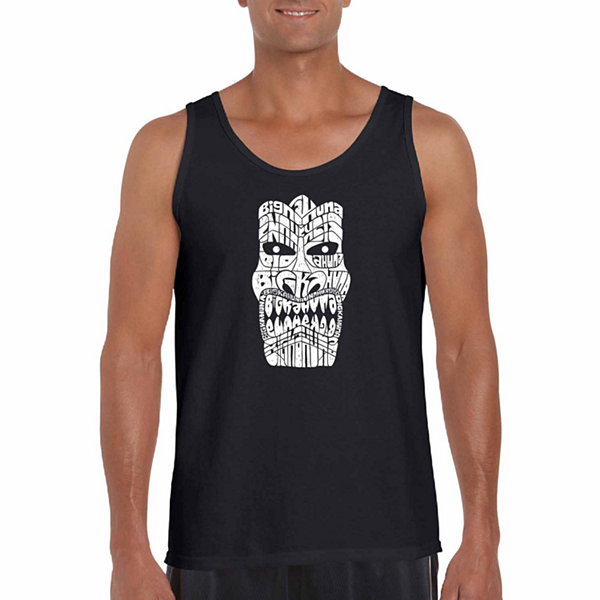 Los Angeles Pop Art Men's Big Kahuna Tank Top