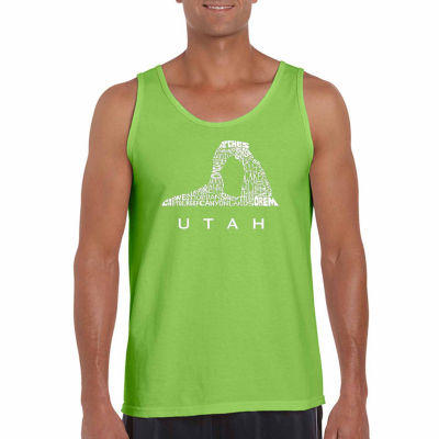 Los Angeles Pop Art Men's Utah  Tank Top