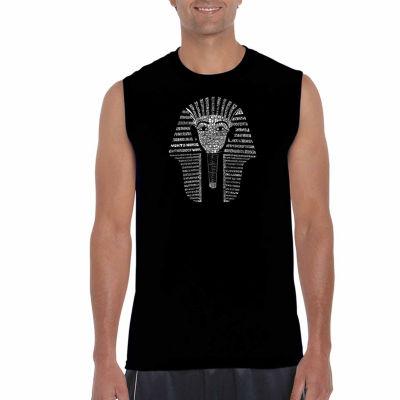 Los Angeles Pop Art Sleeveless King TUT Word Art T-Shirt