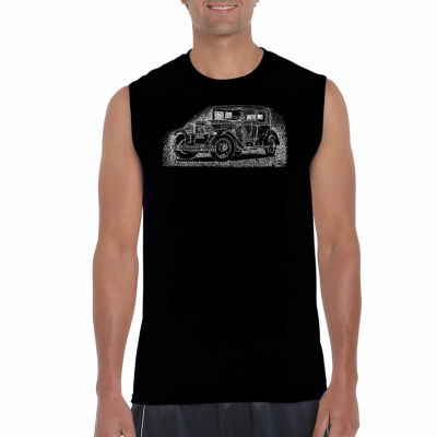 Los Angeles Pop Art Sleeveless Legendary MobstersWord Art T-Shirt